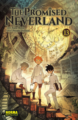 the promised neverland  vol.13