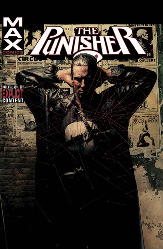 the punisher max vol. 1-6 hc - marvel comics - robot negro