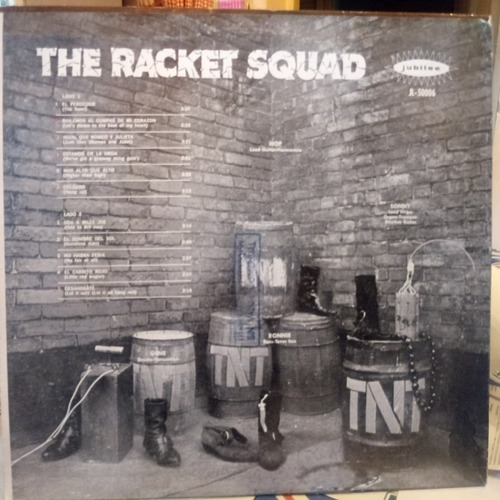 the racket squad tapa 8 vinilo 7 rayas superficial no salta