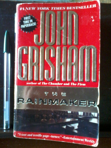 the rainmaker  - john grisham - paperback en inglés - 1996