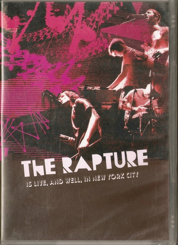 the rapture is live and well in new yourk city dvd raro novo