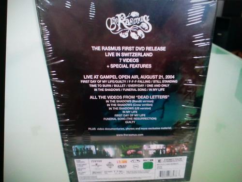 the rasmus / live letters / dvd / nuevo / sellado / import /
