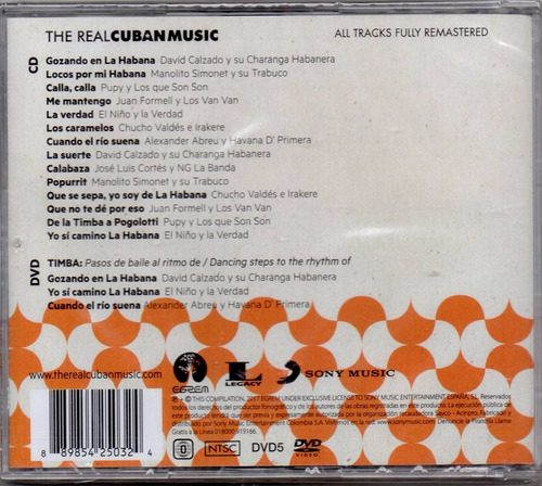 the real cuban music - timba cd original nuevo