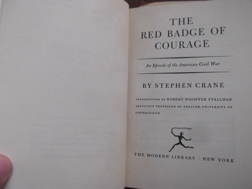 the red badge of courage stephen cranes ingles tapa dura