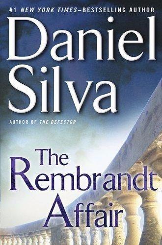 the rembrandt affair - livro em inglês