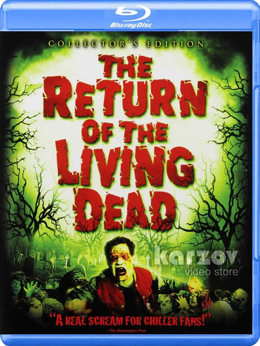 the return of the living dead zombies blu-ray