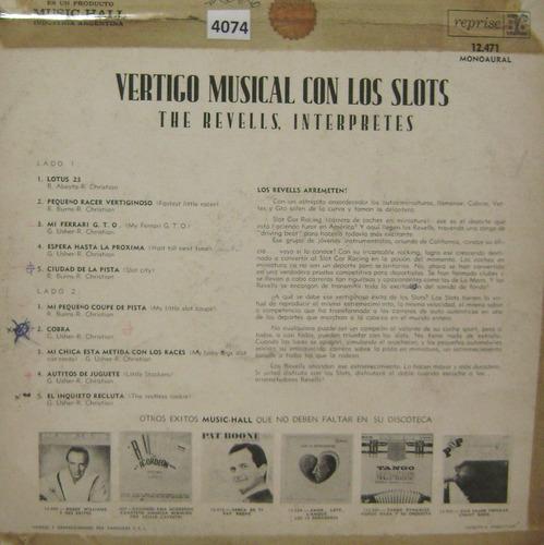 the revels  vertigo musical con los slots  raro vinilo lp