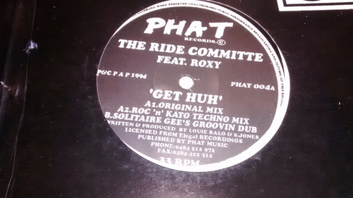 the ride committee feat. roxy get huh uk excelente