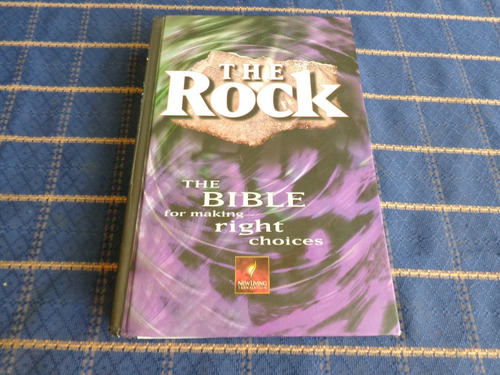 the rock, the bible right choise escrita en ingles 1291 pag.