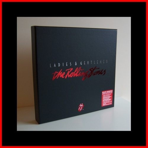 the rolling stones - box set  l & g limited edition!!!