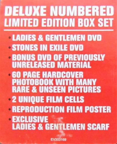 the rolling stones - box set  l & g limited edition oferta!!