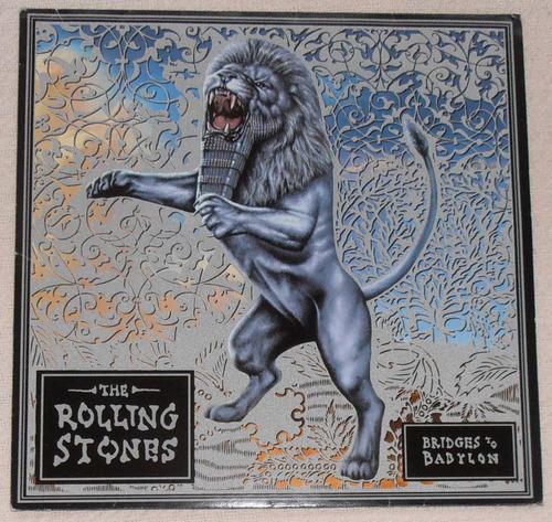 the rolling stones - bridges to babylon (2 l ps 1ra ed. u k)