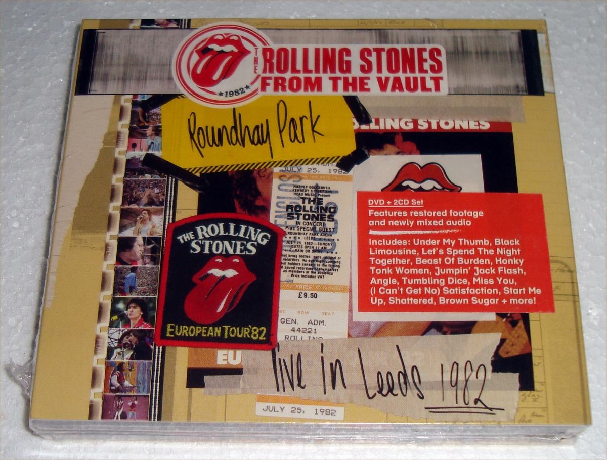 The Rolling Stones From The Vault Live In Leeds 1982 2cd+dvd