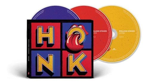 the rolling stones honk 3 cd deluxe importado nuevo en stock