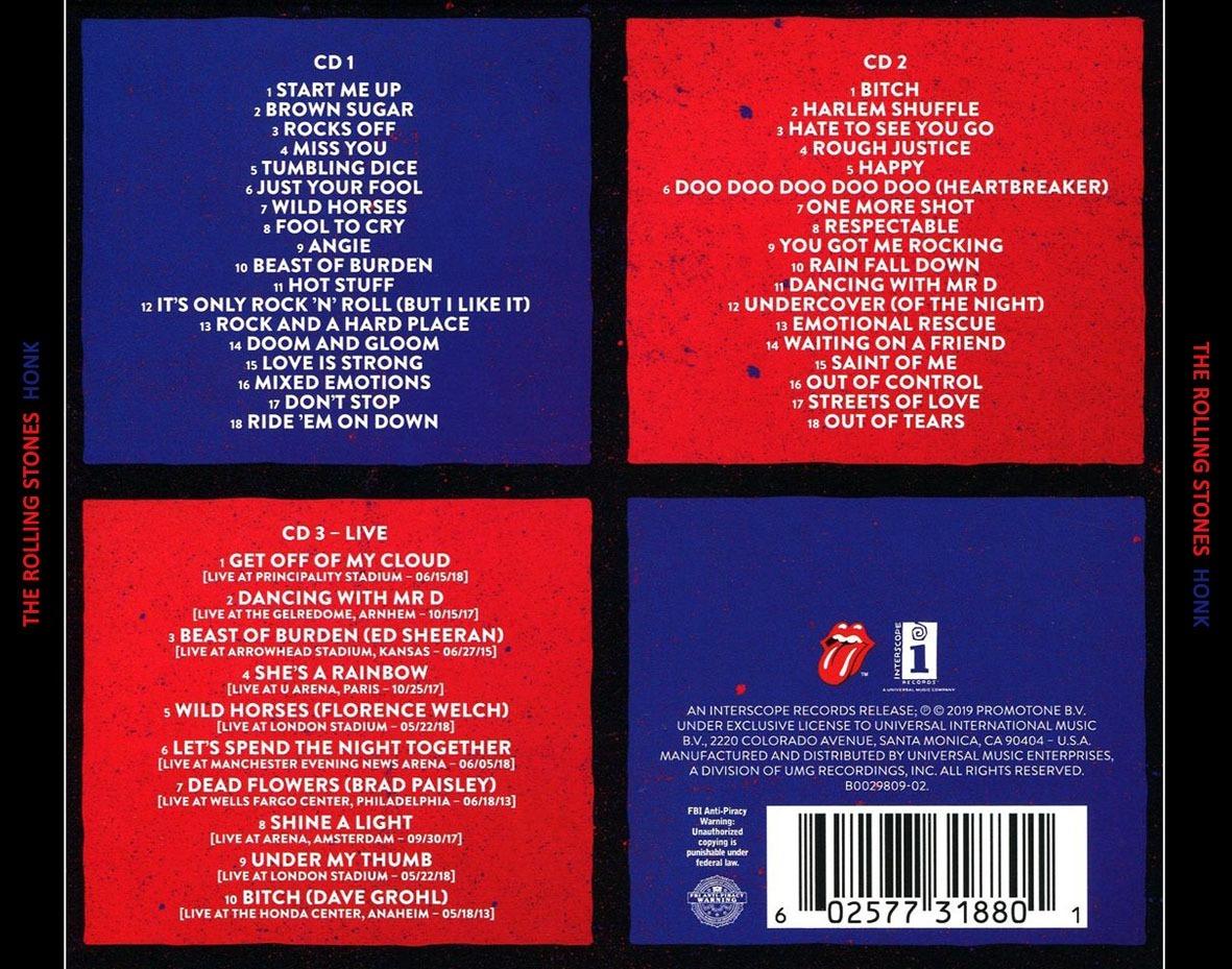 The Rolling Stones - Honk -- Álbum Mp3