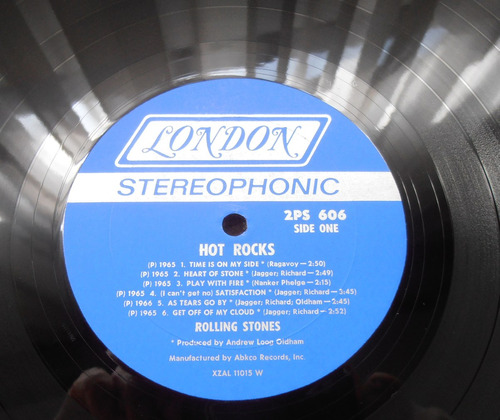 the rolling stones - hot rocks ( doble l p ed. u s a 1971)