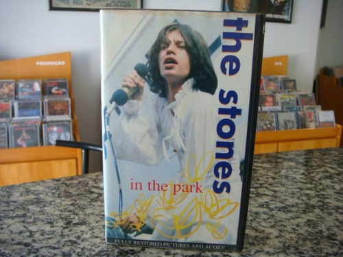 the rolling stones - in the park (fita vhs)