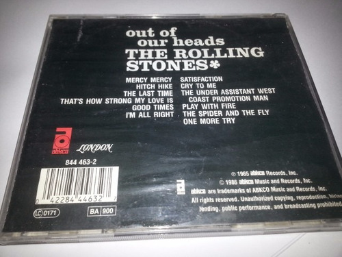 the rolling stones  out of our heads - remasterizado londres