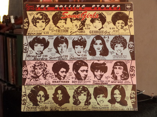 the rolling stones some girls lp exelente