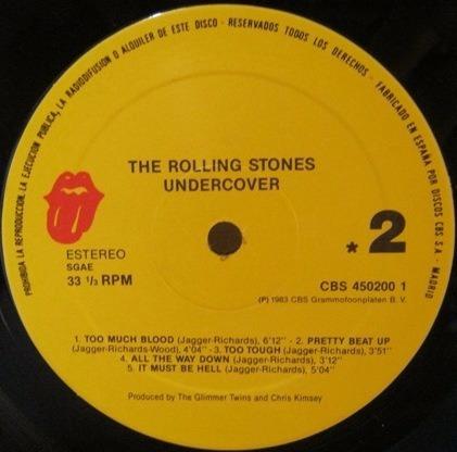 the rolling stones undercover vinilo rock cbs 450200 1