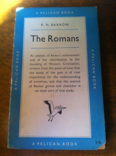 the romans / r.h. barrow