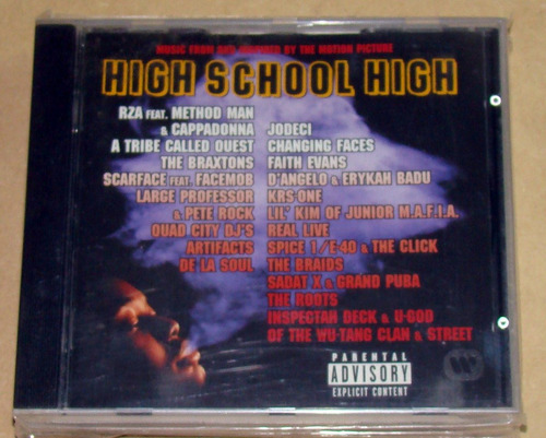 the roots artifacts high school high soundtrack cd aleman