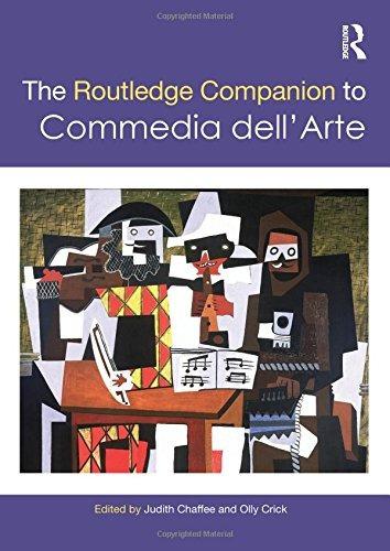the routledge companion to commedia dell'arte (compañeros de