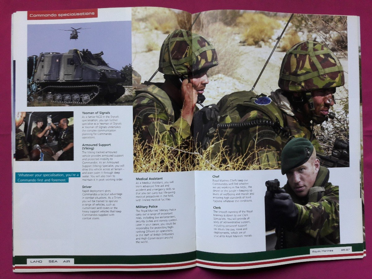 royal marines specialisations