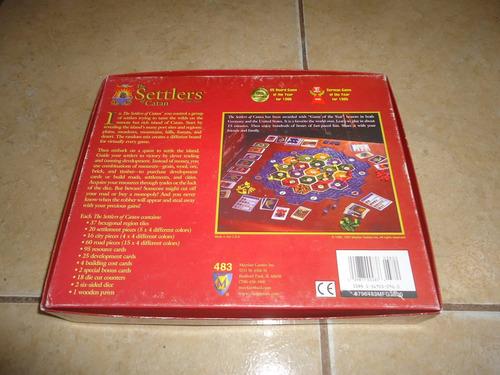 the settlers of catan mayfair games 1997 tercer edicion +++