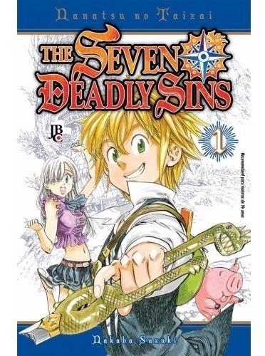 the seven deadly sins 1! jbc! lacrado! nanatsu no taizai