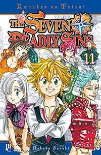 the seven deadly sins (nanatsu no taizai)- manga -  jbc