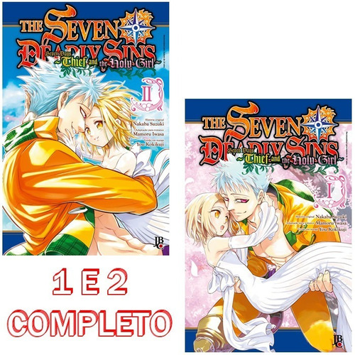 the seven deadly sins - seven days 1 e 2 completo! mangá jbc