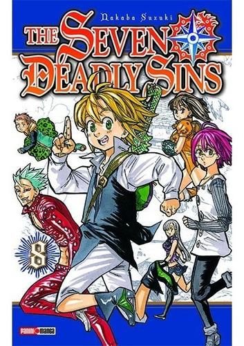 the seven deadly/nanatsu manga tomos originales panini manga
