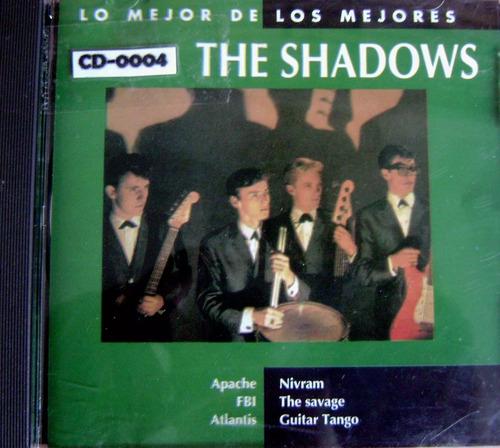 the shadows lo mejor de the shadows cd original emi
