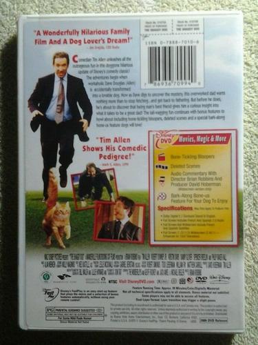 the shaggy dog - un papá con pocas pulgas dvd original z1