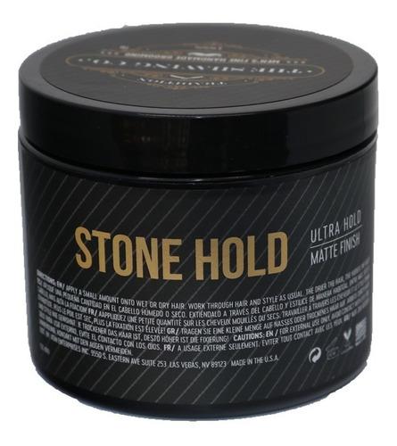 the shaving co. pomada de cabello stone hold 4oz/113.4gr