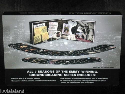 the shield escudo boxset serie completa tv temporadas dvd
