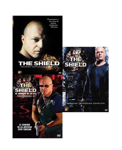 the shield las 6 temporadas serie de tv en formato dvd