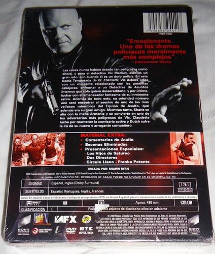the shield temporada 6 seis serie de tv dvd