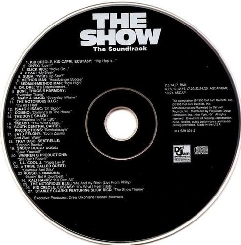 the show    cd  coletanea   importado