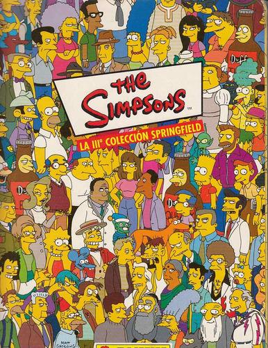 the simpson album panini (le faltan 26 estampas)