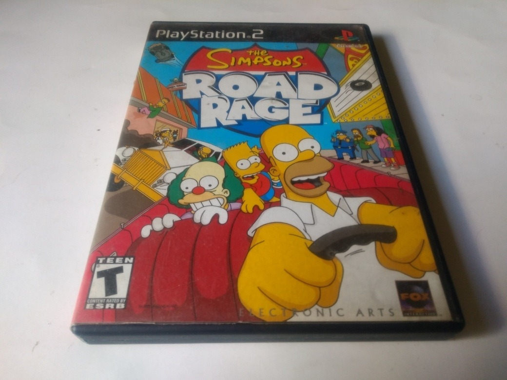 The Simpsons Road Rage Ps2 Playstation