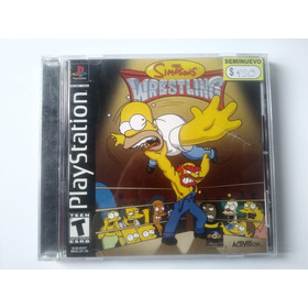 The Simpsons Wrestling _ Ps _ Shoryuken Games