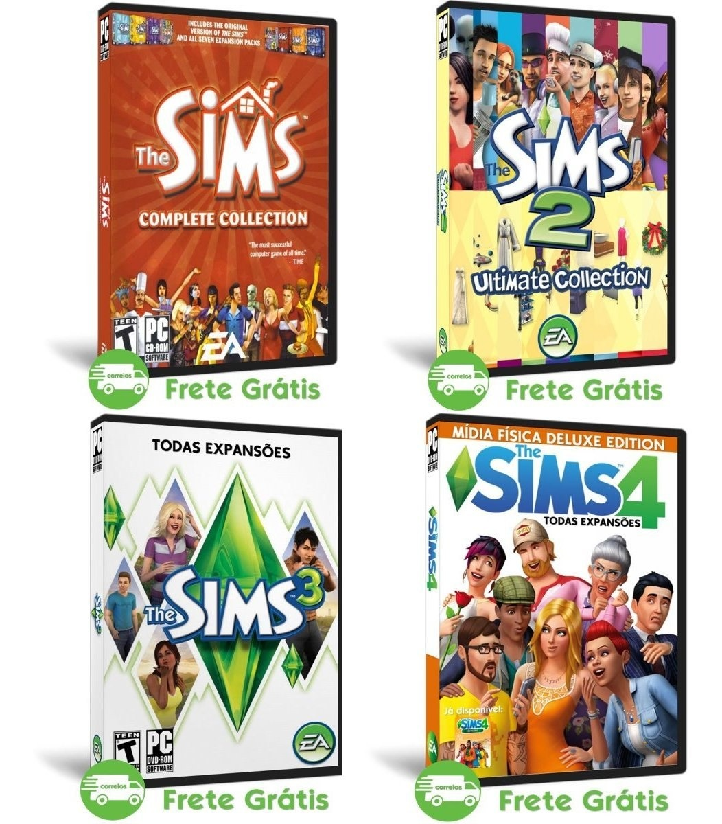 the sims 2 download completo todas as expansoes