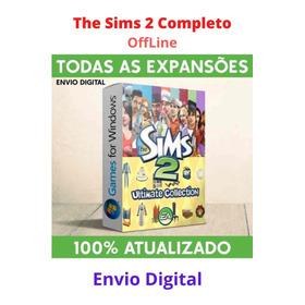 The Sims 2 - Completo Com Todas As Expansões - Pc