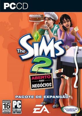 the sims 2 coleção grandes negócios (inclui 3 jogos) pc