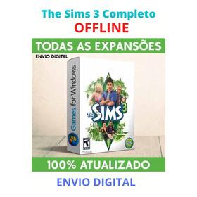 The Sims 3 - Todas As Expansões - Pc