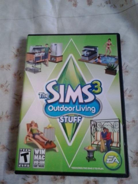 The Sims 3: Outdoor Living Stuff - Juego Original Pc / Mac - Bs  150 000,00