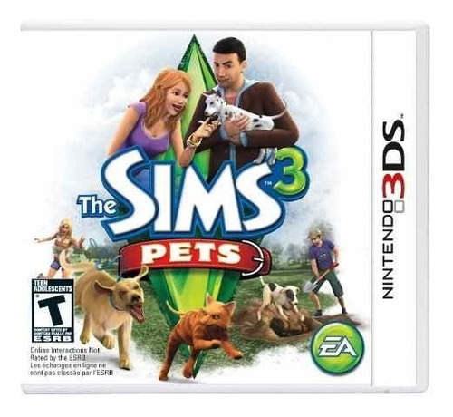 the sims 3: pets - nintendo 3ds