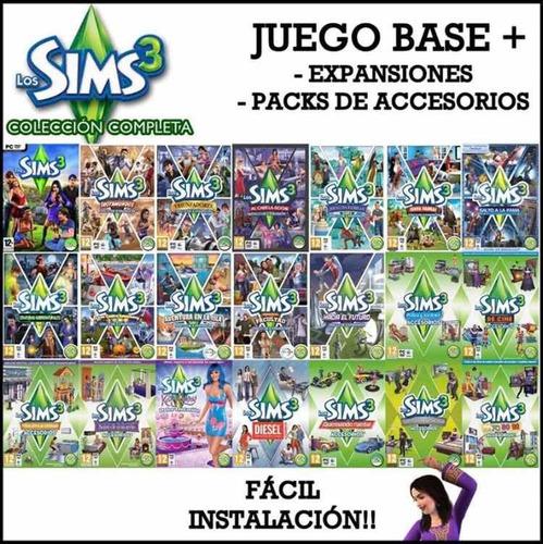 the sims 3 - todas las expansiones - full pc